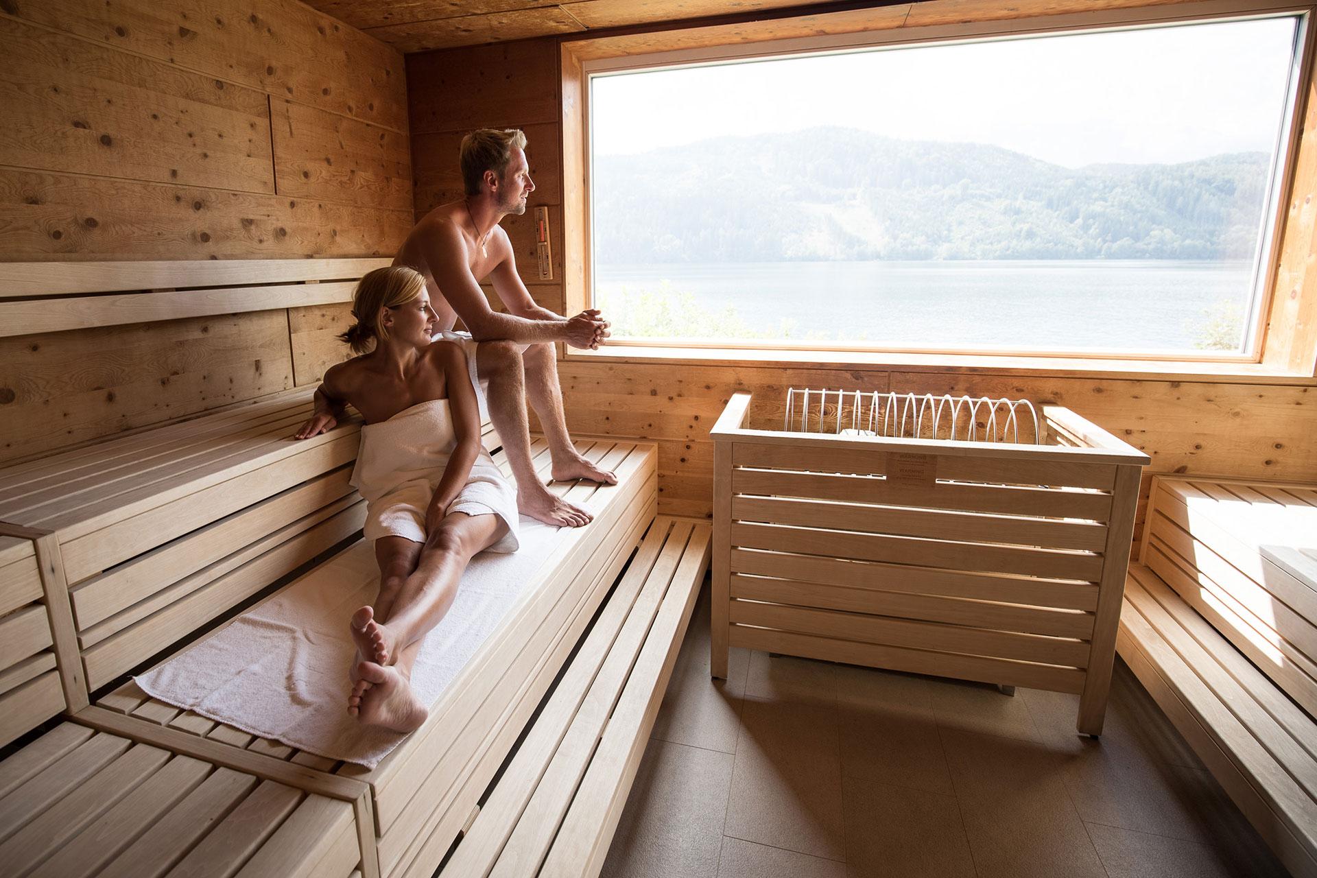 wohlf hlen relaxen und genie en badehaus millst tter see On sauna wurzburg und umgebung